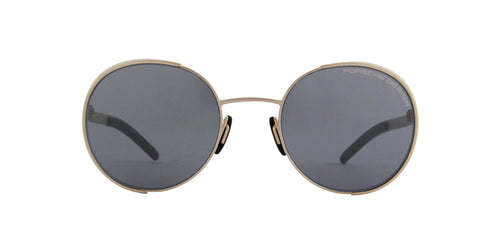 Porsche Design - P8674 gold Oval Unisex Sunglasses - 50mm