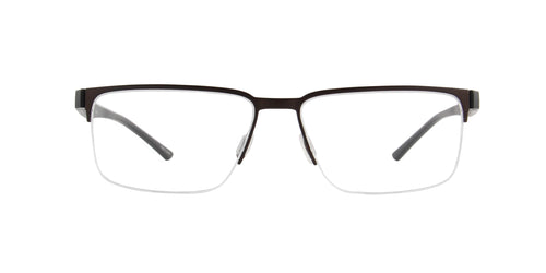 Porsche Design - P8352 brown Rectangular Men Eyeglasses - 56mm