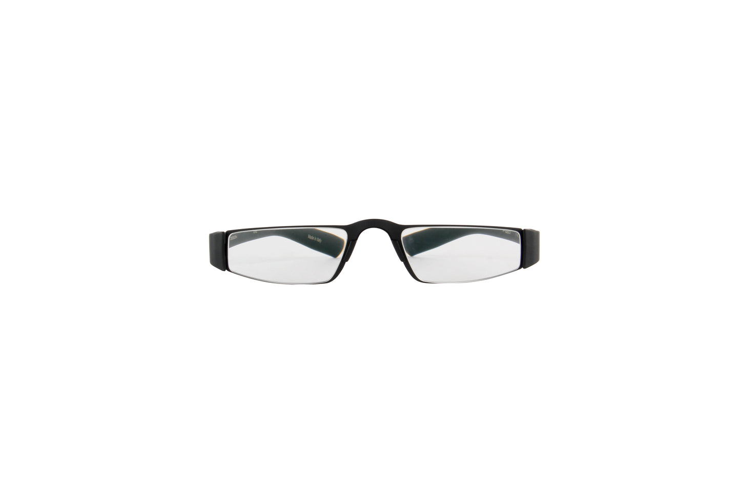 Porsche Design - P8801 +2.50 Black Rectangular Unisex Readers - 48mm