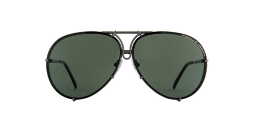 Porsche Design - P8478 grey mat Aviator Unisex Sunglasses - 66mm