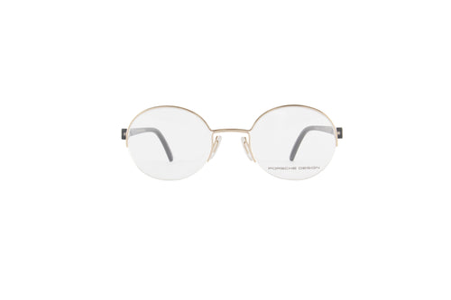 Porsche Design - P8350 gold Round Unisex Eyeglasses - 50mm