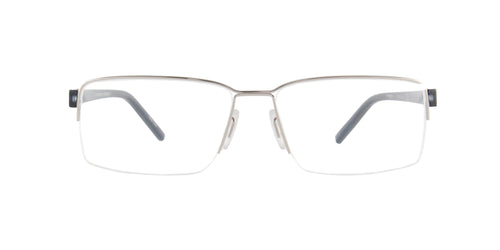 Porsche Design - P8351 palladium Rectangular Men Eyeglasses - 56mm