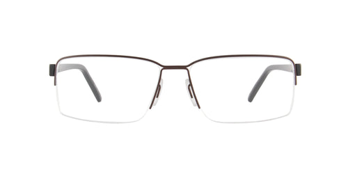 Porsche Design - P8351 brown Rectangular Men Eyeglasses - 56mm