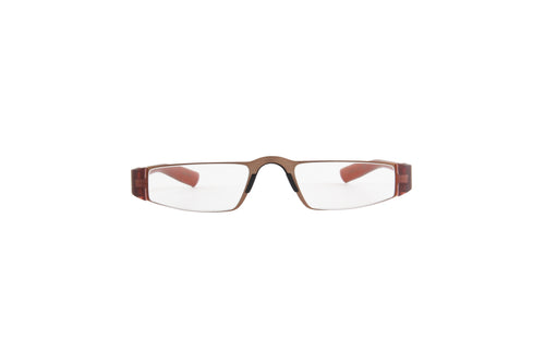 Porsche Design - P8801 +1.50 Gold Brown Rectangular Unisex Readers - 48mm