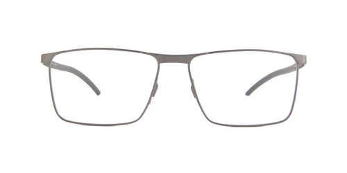 Porsche Design - P8326 Grey Rectangular Men Eyeglasses - 55mm