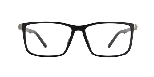 Porsche Design - P8328 black Rectangular Men Eyeglasses - 56mm