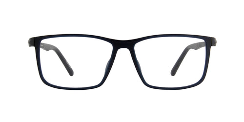 Porsche Design - P8328 blue Rectangular Men Eyeglasses - 56mm