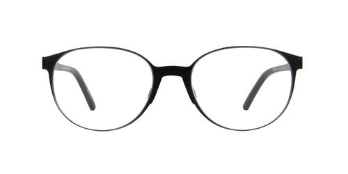 Porsche Design - P8312 black Oval Unisex Eyeglasses - 53mm