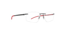 Porsche Design - P8341 black Rectangular Men Eyeglasses - 57mm