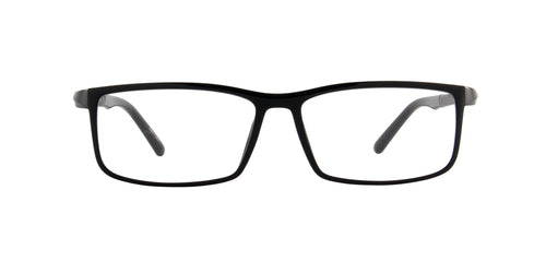 Porsche Design - P8228 black Rectangular Men Eyeglasses - 56mm