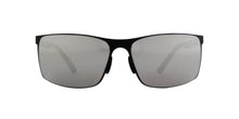Porsche Design - P8566 black Rectangular Unisex Sunglasses - 64mm