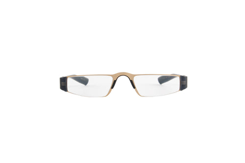 Porsche Design - P8801 +2.00 Gold Blue Rectangular Unisex Readers - 48mm