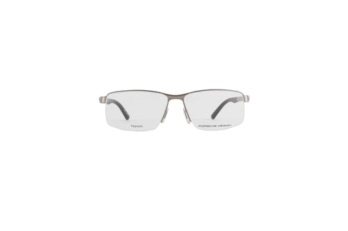Porsche Design - P8274 titanium Rectangular Men Eyeglasses - 56mm