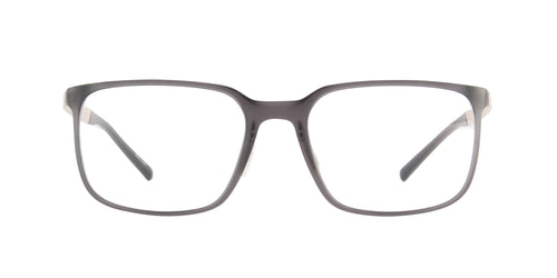 Porsche Design - P8338 grey, gold Rectangular Men Eyeglasses - 55mm