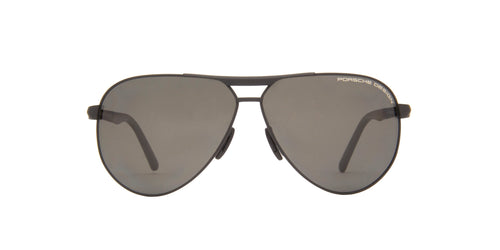 Porsche Design - P8649 Black Aviator Men Sunglasses - 62mm