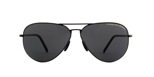 Porsche Design - P8508 black Aviator Unisex Sunglasses - 64mm