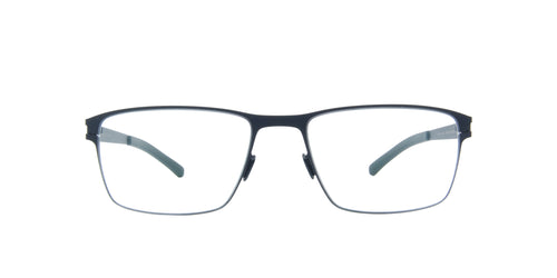 Mykita - Marlowe Navy/Clear Rectangular Unisex Eyeglasses - 58mm