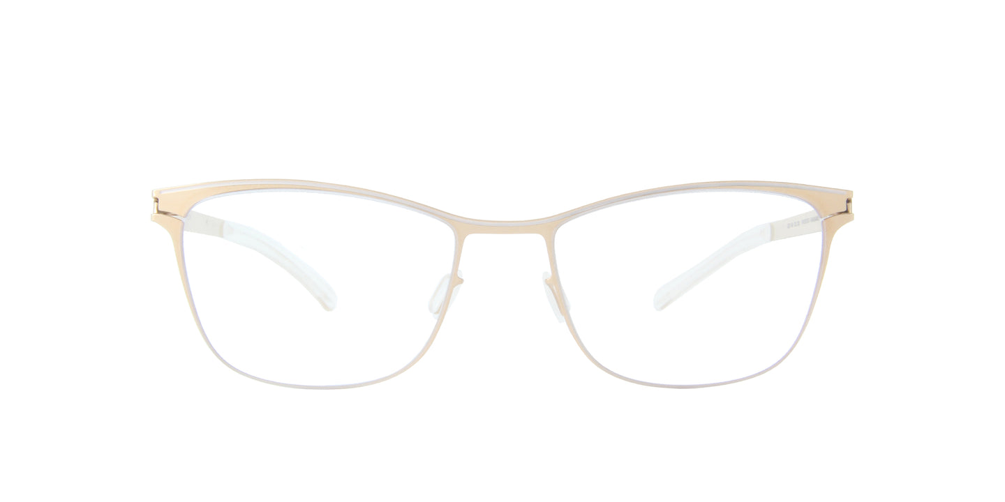 Mykita - Romina Champaigne Gold/Clear Square Women Eyeglasses - 51mm