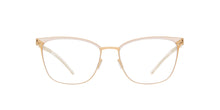 Mykita - Meghan Champagnegold/Aurore/Clear Rectangle Unisex Eyeglasses - 53mm