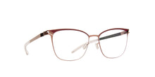 Mykita - Meghan Purplebronze/Cranber Rectangle Unisex Eyeglasses - 53mm