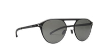 Mykita - Paulin Black White/Black Mirror Phantos Women Sunglasses - 51mm