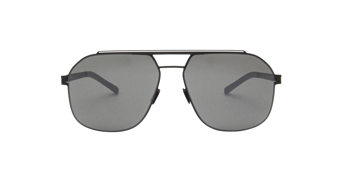 Mykita - Selleck Black/White Aviator Men Sunglasses - 57mm