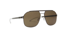Mykita - Selleck Mocca/Raw Brown Aviator Men Sunglasses - 57mm