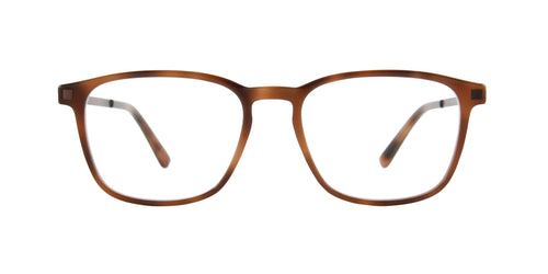 Mykita - Tuktu Brown/Clear Square  Eyeglasses - 50mm