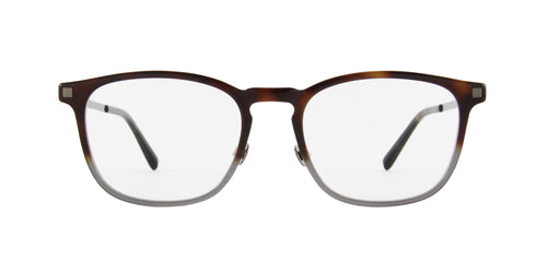 Mykita - Haldur Brown Grey/Clear Rectangular  Eyeglasses - 52mm