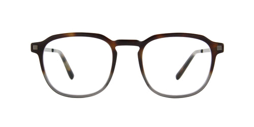 Mykita - Pal C9 Brown Grey/Clear Square  Eyeglasses - 48mm