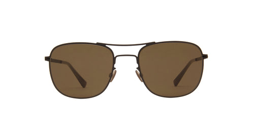 Mykita - Vito Black/Brown Aviator Unisex Sunglasses - 51mm