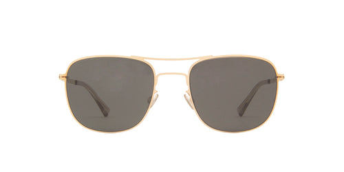 Mykita - Vito Champagne Gold/Dark Grey Aviator Unisex Sunglasses - 51mm