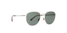 Mykita - Lennard Shiny Silver Square Unisex Sunglasses - 51mm