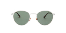 Mykita - Kasimir Shiny Silver/Dark Green Solid Phantos Unisex Sunglasses - 50mm