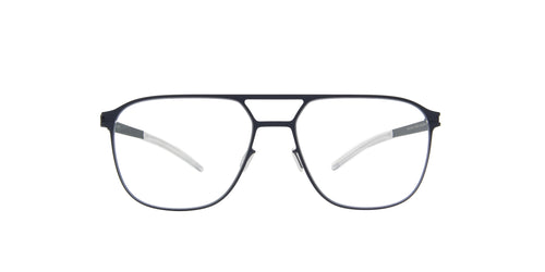 Mykita - Joel Navy/Clear Aviator Men Eyeglasses - 47mm
