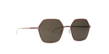 Mykita - Tilla Purple Bronze/Green Geometric Women Sunglasses - 50mm