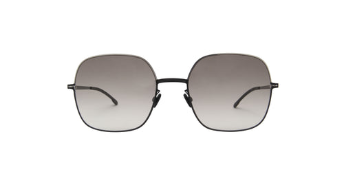 Mykita - Magda Silver Black/Grey Gradient Butterfly Women Sunglasses - 53mm