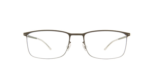 Mykita - Errki Camougreen/Clear Rectangle Unisex Eyeglasses - 54mm