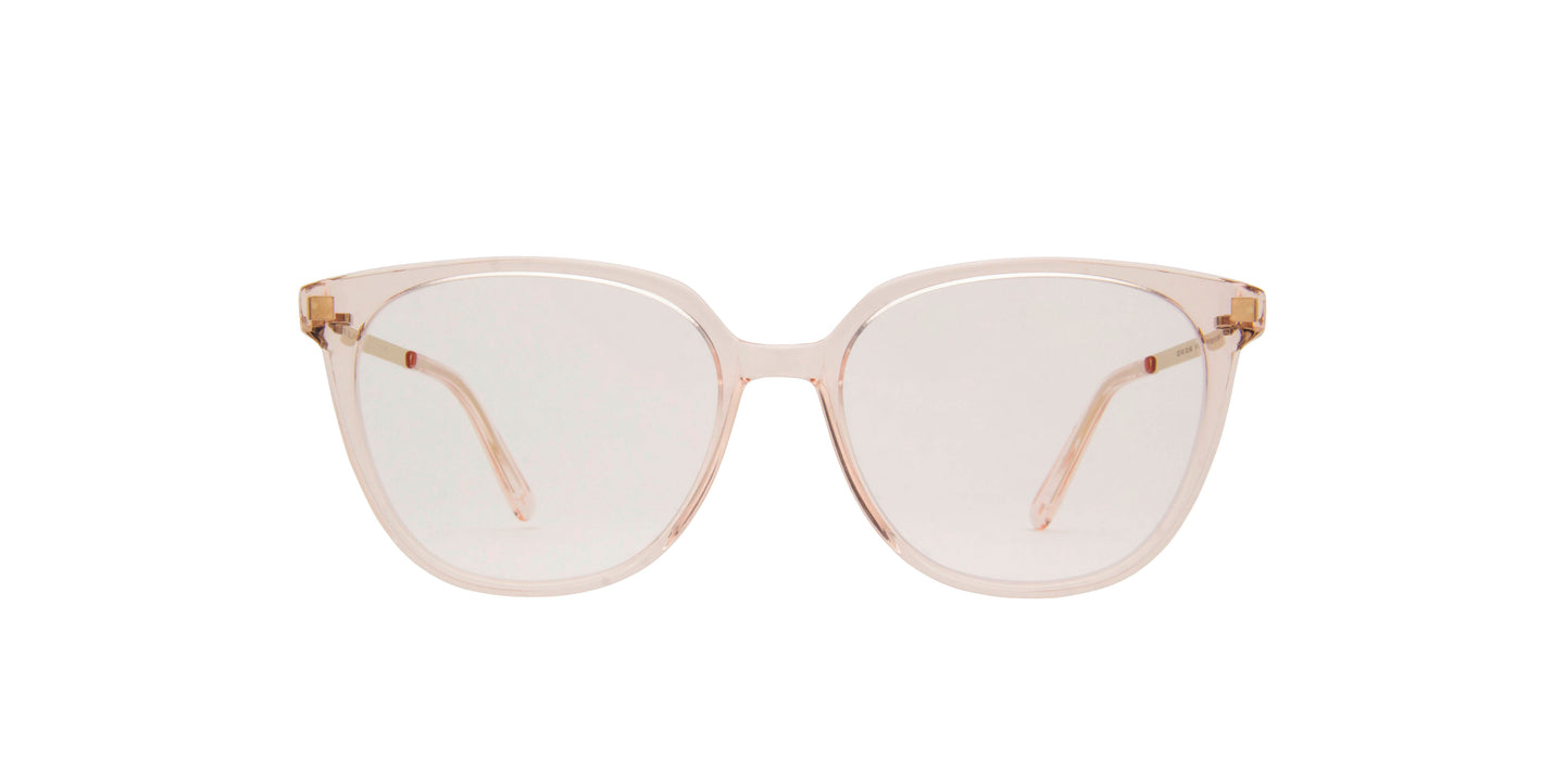 Mykita - Milla C20-Rosewater/Champa/Clear Square Unisex Eyeglasses - 51mm