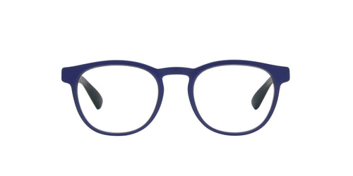 Mykita - Zennith Navy Blue/Clear Polarized Oval Unisex Eyeglasses - 50mm