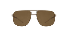 Mykita - AL Rawbrown Solid/Brown Aviator Unisex Sunglasses - 59mm
