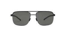 Mykita - Wilder Matte Silver/Raw Brown Aviator Men Sunglasses - 46mm