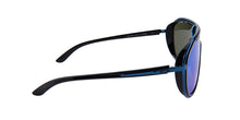 Oakley - Outpace Black/Sapphire Shield Women Sunglasses - 26mm