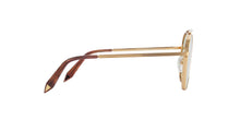 Victoria Beckham - VBS137 Gold Oval Women Sunglasses - 54mm
