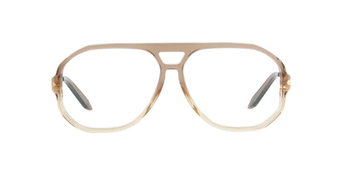 Victoria Beckham - VBOPT224 Amber Brown Aviator Women Eyeglasses - 59mm