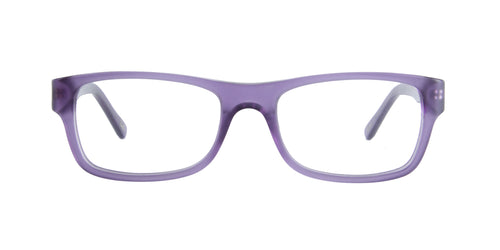 Ray Ban Rx - RX5268 Matte Violet Rectangular Women Eyeglasses - 50mm