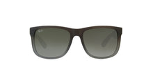 Ray Ban - Justin Brown/Green Gradient Rectangular Unisex Sunglasses - 54mm