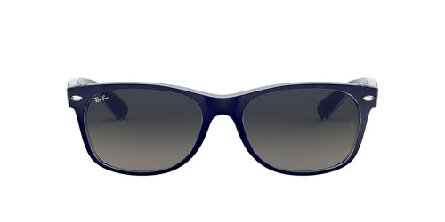 Ray Ban - New Wayfarer Blue Wayfarer Unisex Sunglasses - 52mm