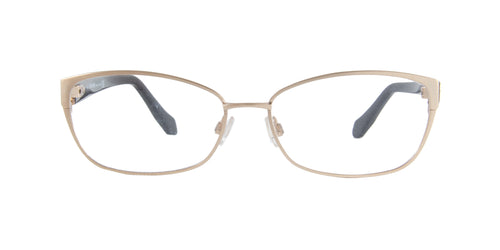 Roberto Cavalli - Butti 5024 Gold Rectangular Women Eyeglasses - 56mm