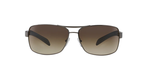 Prada Sport - PS54IS Gray Aviator Men Sunglasses - 65mm